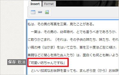 Front-end Editor文章編集2
